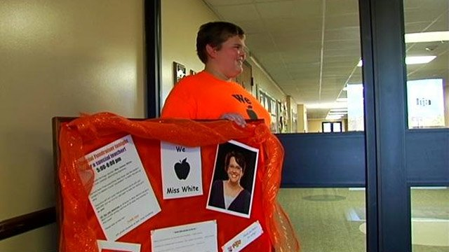 Students raise money for teacher surgery (FOX Carolina)