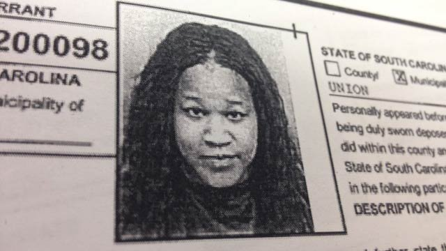 Keyonna Palmer's mug shot on arrest warrants from Union PD. (Source: Union PD)