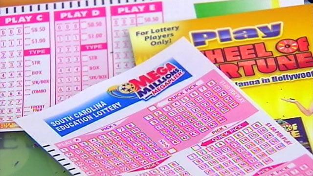 A Mega Millions ticket. (File/FOX Carolina)