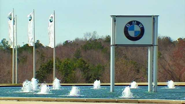 BMW's manufacturing plant is located near Greer, SC. (File/FOX Carolina)