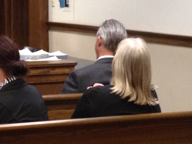 Rep. Trey Gowdy (R. SC) observes the sentencing phase of the Blackwell trial Friday. (Fox Carolina)