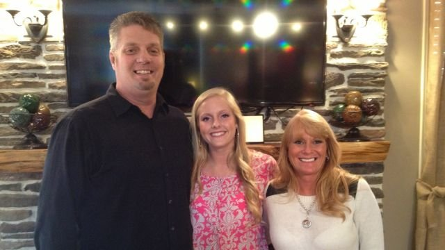 The Cassidy family says they hope show will lead others to Christ. (FOX Carolina/ March 14, 2014)