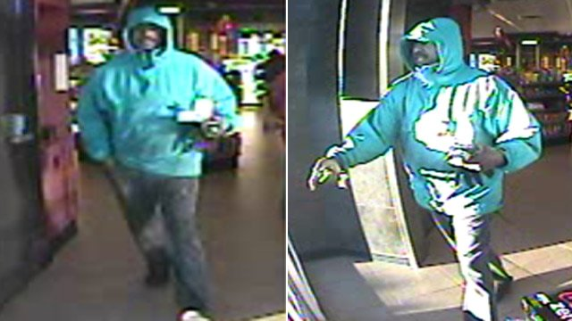 Police say this man used a victim's cards to buy gas, cigarettes. (Source: Greenville Police Dept.)
