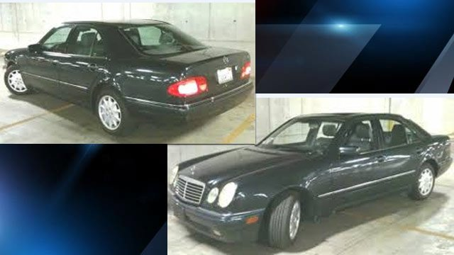 Deputies say the men were seen in a Mercedes like this one. (Source: Buncombe Co. Sheriff's Office)