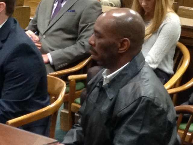 Aldous Copeland in court (Fox Carolina 2014)