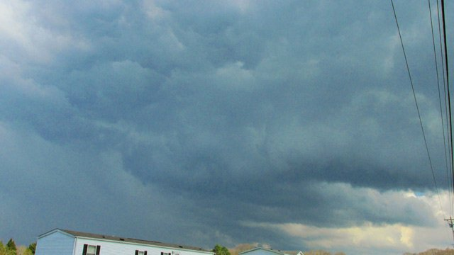 Clouds near Gray Court on Tuesday afternoon. (iWitness Ashley P.)