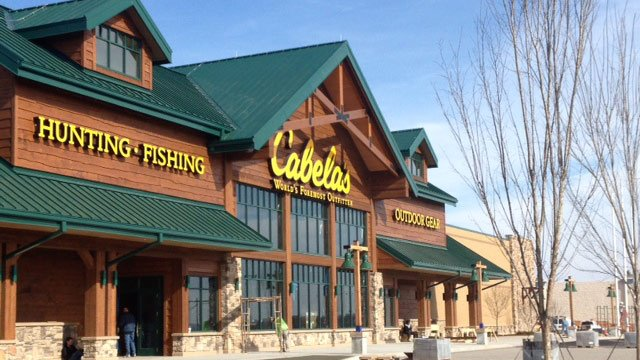 Cabela's is almost ready for its grand opening on April 3. (File/FOX Carolina)