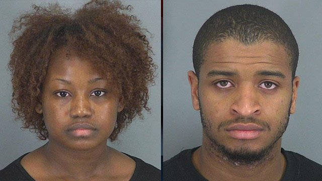 Sheelah Thompson and Tyler Ford. (Source: Spartanburg Co. Detention Center)