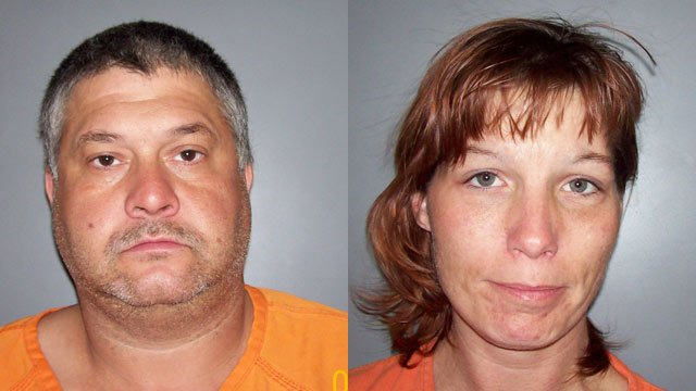 Christopher Anders and Melissa Rhymer (Source: Laurens Co. Sheriff's Office)