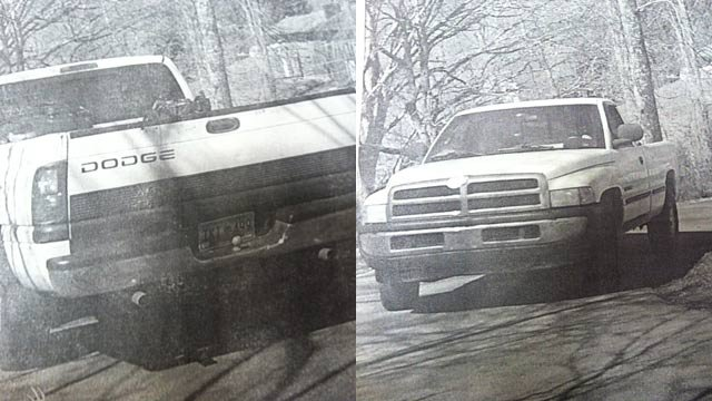 McDowell Co. investigators are looking for info on this truck. (Source: McDowell Co. Sheriff's Office)