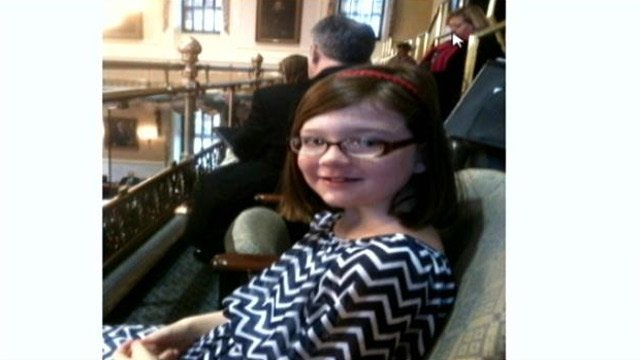 Olivia McConnell at the SC State House. (Source: McConnell family)