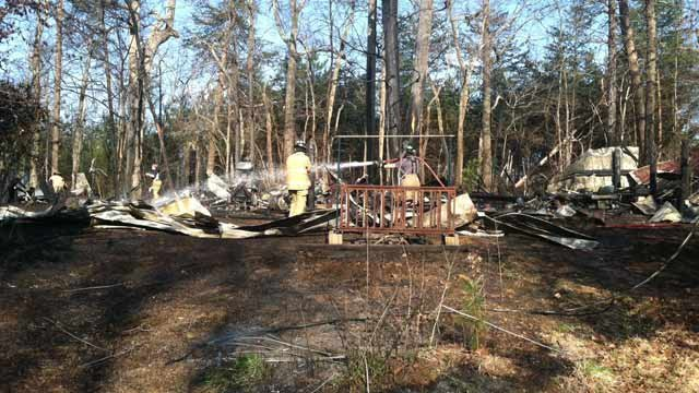 Fire officials said it was accidental. (March 27, 2014/FOX Carolina)