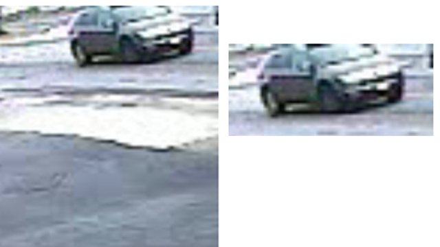 Police say they are looking for this SUV. (Source: Toccoa Police Dept.)