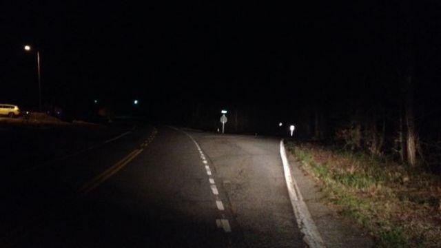 The area where the car and body were found. (April 1, 2014/FOX Carolina)