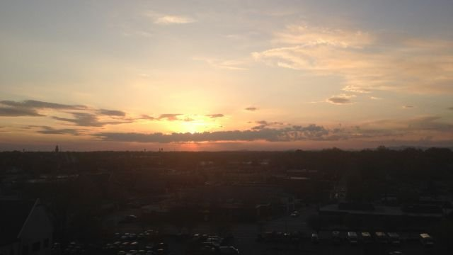 Gorgeous Greenville sunset from Hannah Knight.