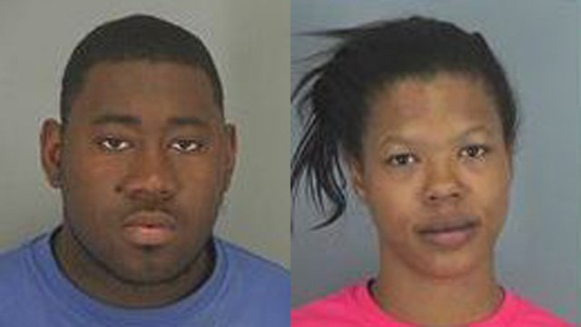 Elix Jones (L) and Candice Dillard (Source: Spartanburg Co. Detention Center website)