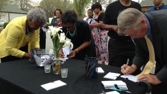 Community members remember Emery Williams (FOX Carolina)