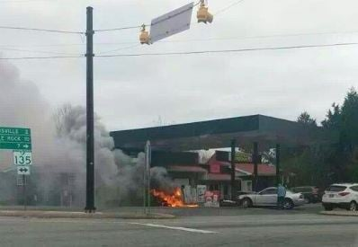 Dacusville fire (Courtesy: Facebook)