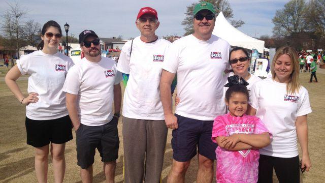 FOX Carolina's team at the 2014 Upstate Heart Walk (FOX Carolina)