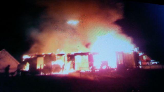 Fire destroys home on Kneewood Ct. (Courtesy: Dianne Wyatt)