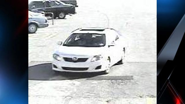 Police say the suspects fled in this Toyota Corolla. (Source: Gaffney Police Dept.)