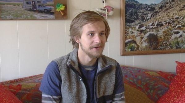 Jackson Depew still recovering from fall talks with Cody Alcorn. (April 8, 2014/FOX Carolina)