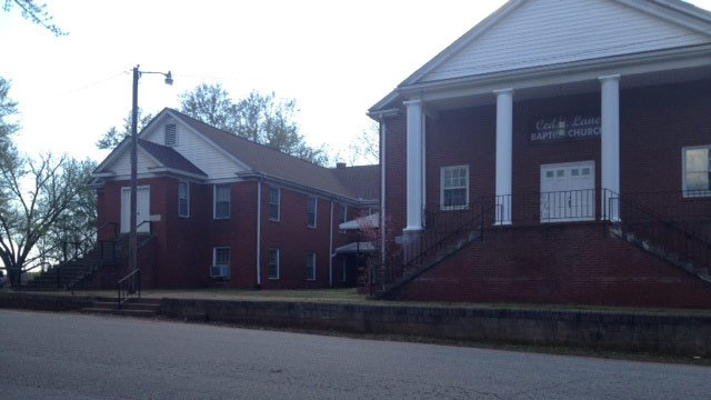 Cedar Lane Baptist Church (April 9, 2014/FOX Carolina)
