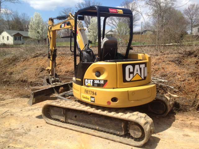 Police said they made an arrest after this excavator was stolen. (Source: Fletcher PD)