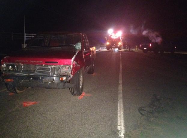 Scene of the fatal wreck. (April 9, 2014/FOX Carolina)