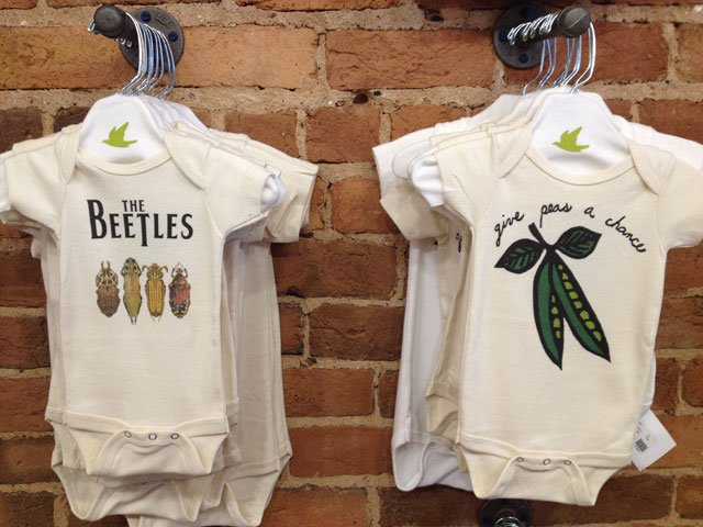 Some of the baby clothes for sale at Spiritex in Greenville. (April 9, 2014/FOX Carolina)