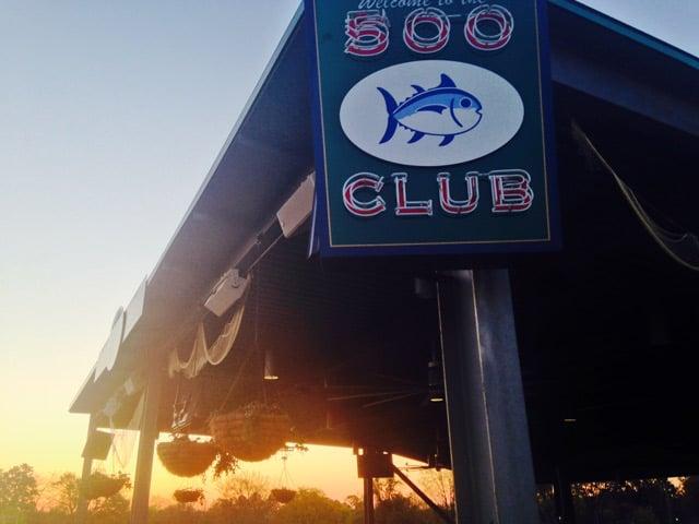 The stadium's all-new Southern Tide 500 Club. (April 10, 2014/FOX Carolina)