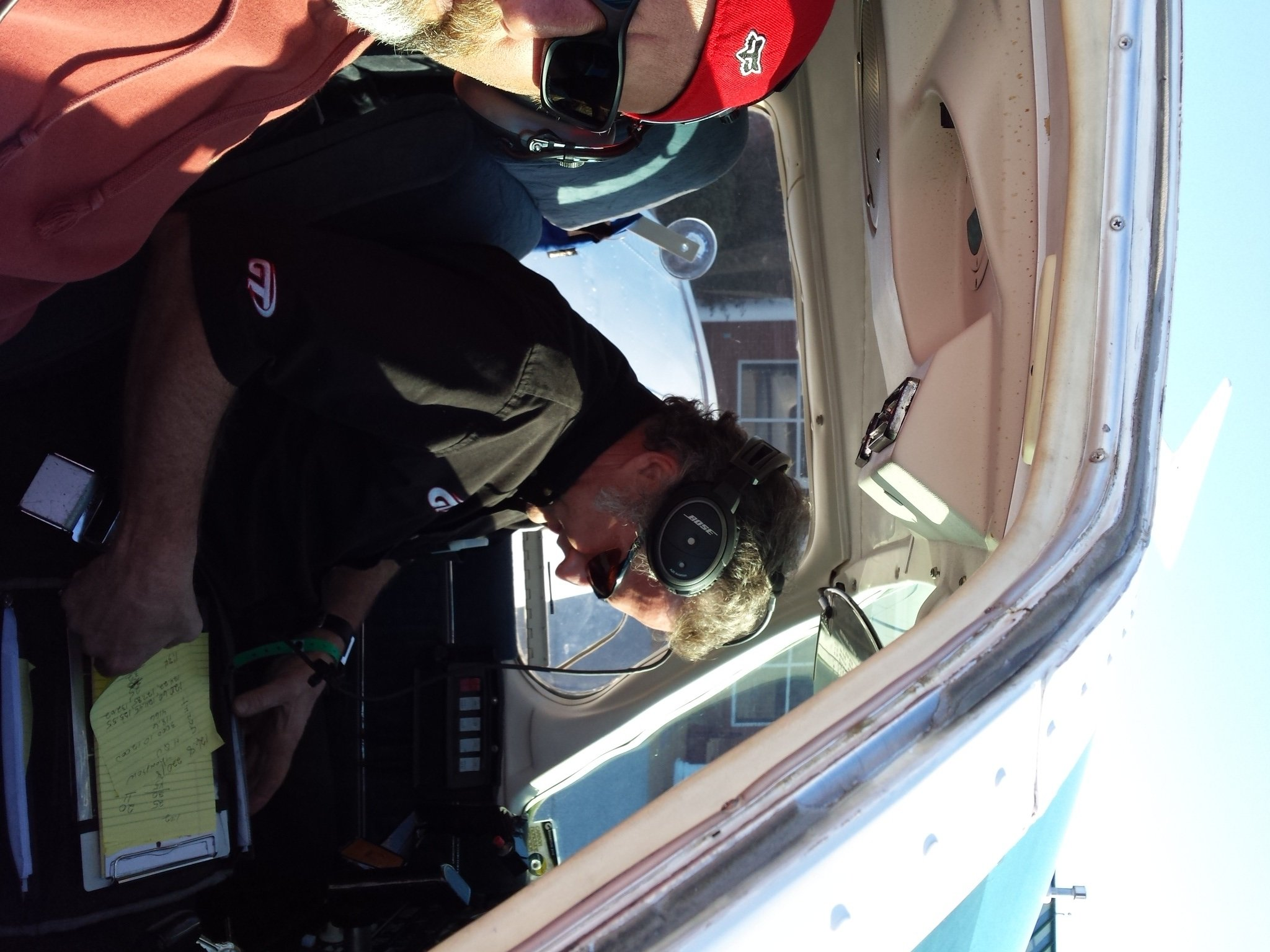 © Lazarus Sommers in the cockpit, courtesy David Smith with Race Day Pix