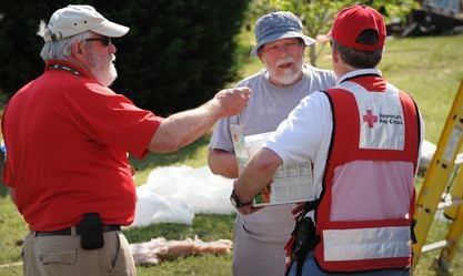 Volunteers have responded to six fires in two days (Courtesy: the American Red Cross of the Western Carolinas)