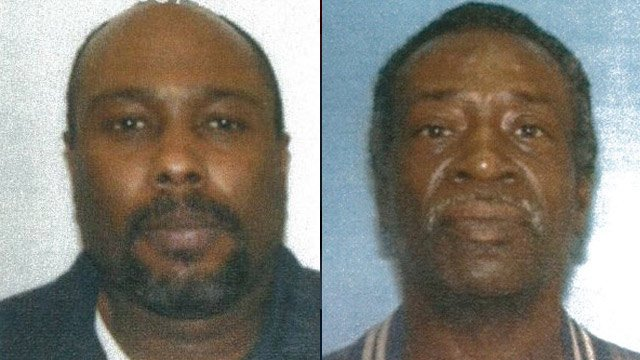 Travelle Burros (L) and Raymond Davis (R). (Source: Union Public Safety Dept.)