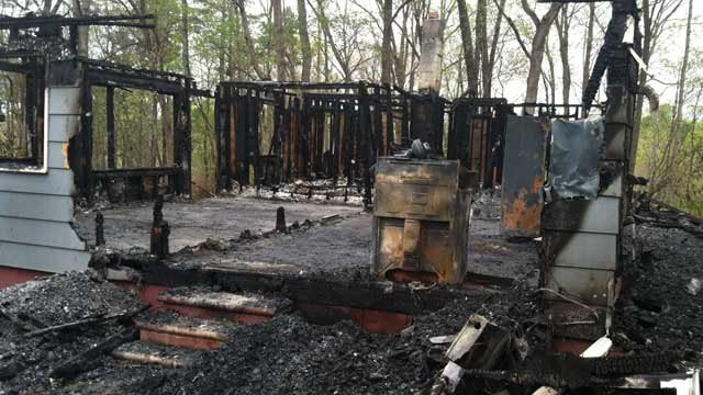 Fire officials are investigating the cause. (April 18, 2014/FOX Carolina)