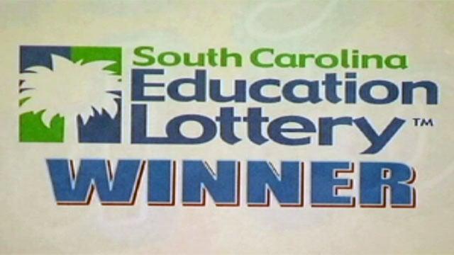 A lottery winner sign. (File/FOX Carolina)