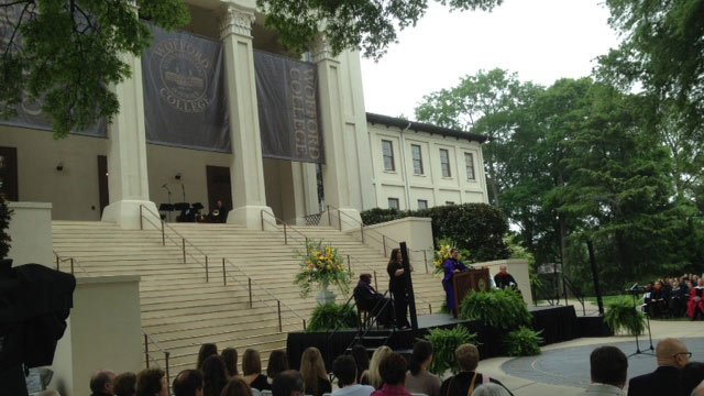 Wofford inaugurated their 11th president on Friday. (April 25, 2014/FOX Carolina)