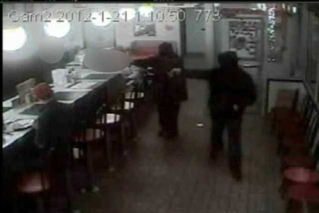 Waffle House surveillance video (Source: 7th Circuit Solicitor's office, January 2012)