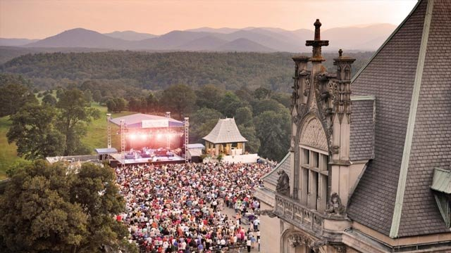 A previous concert at the Biltmore Estate. (Courtesy: Biltmore Concert Series)