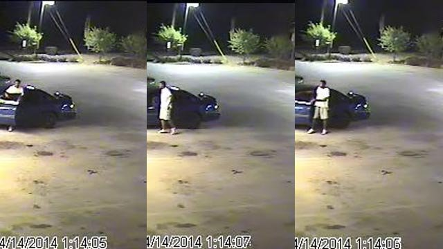 Police are trying to identify this person. (Source: Greenville PD)
