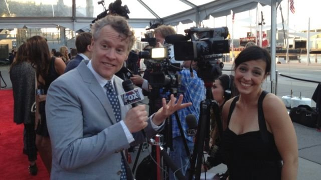 Tate Donovan interviews FOX Carolina's Dana Wachter. (May 2, 2014/FOX Carolina)