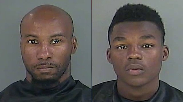 Cedric Williams (L) and Damascus Moore-Floyd. (Source: Anderson Co. Sheriff's Office)