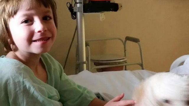 Natalie Davis, 5, waits for heart transplant surgery (Courtesy: Jane Davis)