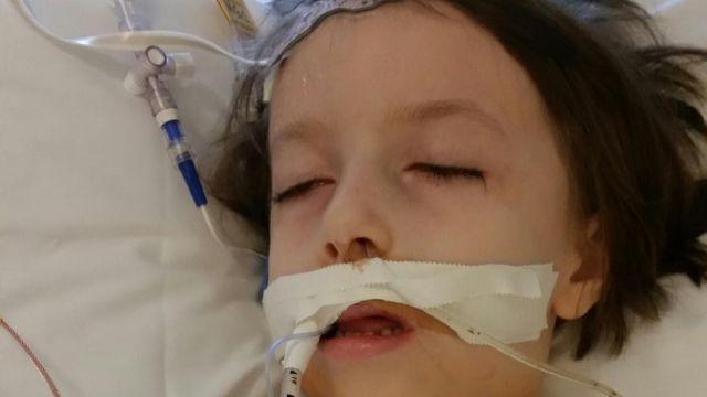 Natalie Davis post-heart transplant surgery (Courtesy: Jane Davis)