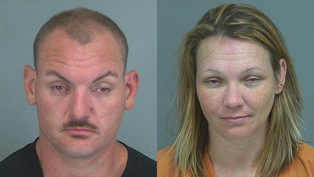 Jacob Bailey (L) and Crystal Roddy (Source: Spartanburg Co. Sheriff's Office)