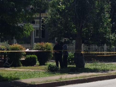 Police investigate drive-by Anderson shooting. (May 11, 2014/FOX Carolina)
