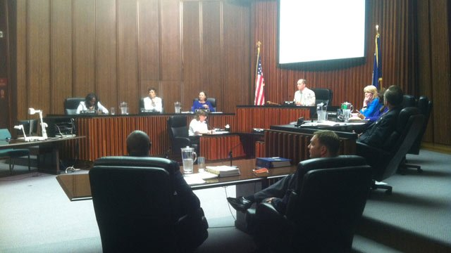 Greenville City Council approved nonpartisan elections on Monday. (May 12, 2014/FOX Carolina)
