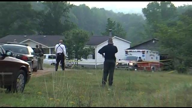 Deputies respond to fatal shooting scene in Honea Path. (May 14, 2014/FOX Carolina)