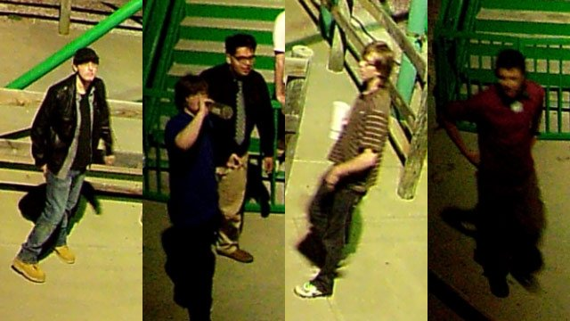 Deputies say they were looking to talk to the people seen on surveillance as persons of interest in the case. (Source: Greenville Co. Sheriff's Office)