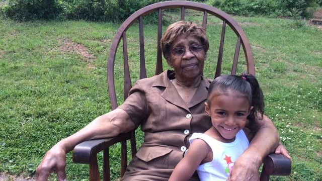 Babysitter Mildred Morris and Jaylee Monteith (Courtesy: Jazmyn Williams)